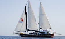 Set sail in Gocek, Turkey aboard 121' classic sailing yacht