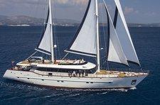 Charter a 121' classic sailing yacht in Split, Croatia