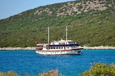 Cruise in style aboard 138' classic sailing yacht in Bodrum, Turkey