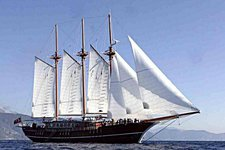Charter a 144' classic sailing yacht in Marmaris, Turkey