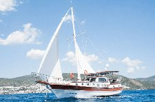 Enjoy sailing in Bodrum, Turkey onboard 49' classic sailing yacht