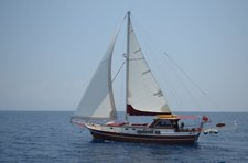 Charter a 49' classic sailing yacht in Bodrum, Turkey