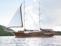 Set your dreams in motion in Marmaris, Turkey aboard 53' classic sailing yacht