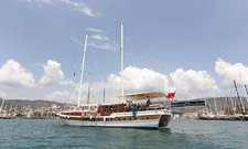 Cruise Turkey in style aboard 66' classic sailing yacht