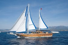Set sail in Fethiye, Turkey aboard 66' classic sailing yacht