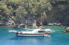 Enjoy cruising in Gocek, Turkey aboard 69' classic sailing yacht