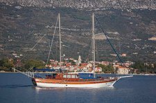 Indulge in luxury in Split, Croatia onboard 69' classic sailing yacht
