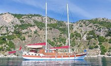 Climb onboard 72' classic sailing yacht in Marmaris, Turkey