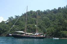 Cruise in style in Gocek, Turkey aboard 76' classic sailing yacht