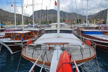 Charter a 76' traditional sailing yacht in Marmaris, Turkey