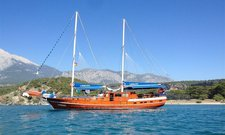 Charter a 79' classic sailing yacht in Bodrum, Turkey