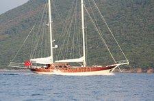 Explore Bodrum, Turkey aboard 79' classic sailing yacht