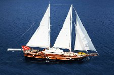Chartre a 79' classic sailing yacht in Marmaris, Turkey