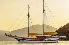 Explore Bodrum, Turkey aboard 82' classic sailing yacht