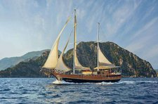 Discover the magic in Turkish breeze aboard 82' classic sailing yacht