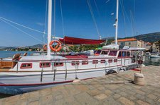 Set your dreams in motion onboard 82' classic sailing yacht