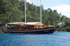 Set sail in Gocek, Turkey onboard 85' classic sailing yacht