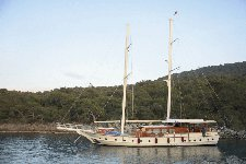 Fun in Sun in Bodrum, Turkey aboard 89' traditional sailing yacht