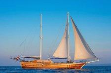Charter a 89' classic sailing yacht in Dubrovnik, Croatia