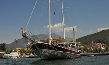 Charter a 59' classic sailing yacht in Fethiye, Turkey