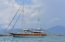 Fun in Sun in Marmaris, Turkey aboard 89' classic sailing sailing yacht