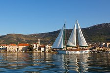 Climb onboard 89' classic sailing vessel to enjoy Croatia