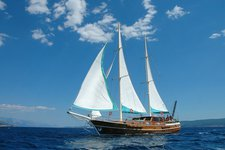 Charter this 89' classic sailing yacht in Split, Croatia