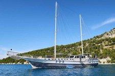 Enjoy cruising in Split, Croatia onboard 89' classic sailing yacht