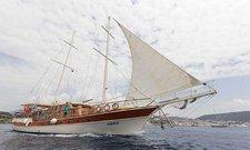 Set sail in Bodrum, Turkey onboard 92' gulet