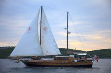 Set sail in Sibenik, Croatia onboard 92' traditional sailing yacht