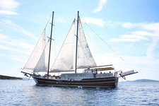 Charter 92' classic sailing yacht in Trogir Croatia