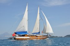 Set sail in Bodrum, Turkey aboard 98' classic sailing yacht
