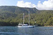 Charter a 98' classic sailing yacht in Bodrum, Turkey