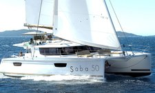 Experience pure comfort & luxury onboard Saba 50