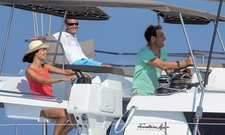 Experience awesome cruising onboard 50' luxurious catamaran