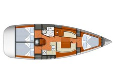 thumbnail-5 Jeanneau 39.0 feet, boat for rent in Alicante, ES