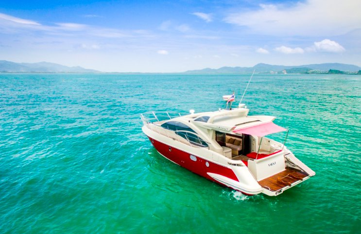 Boating is fun with a Azimut in Phuket