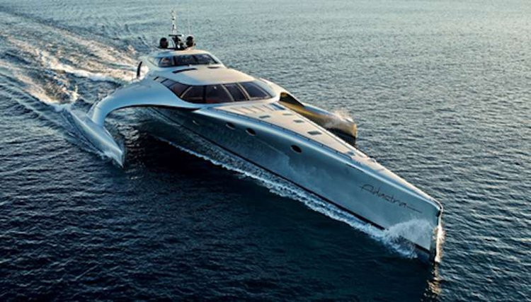 Explore paradise aboard a luxurious 140' Trimaran