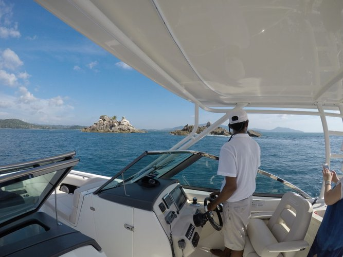 Boating is fun with a Cuddy cabin in Phuket