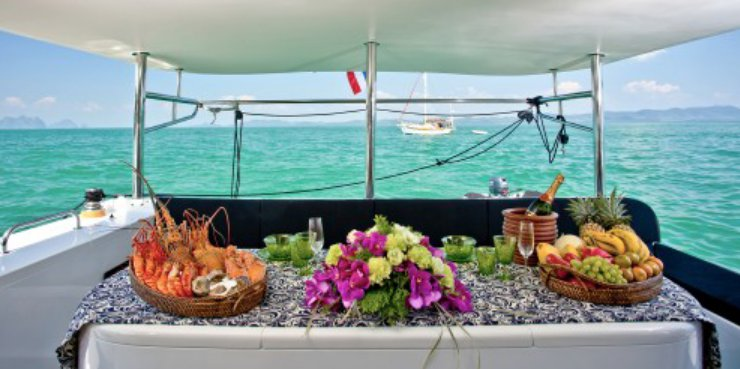 Discover Phuket surroundings on this Schionning 48 Custom boat
