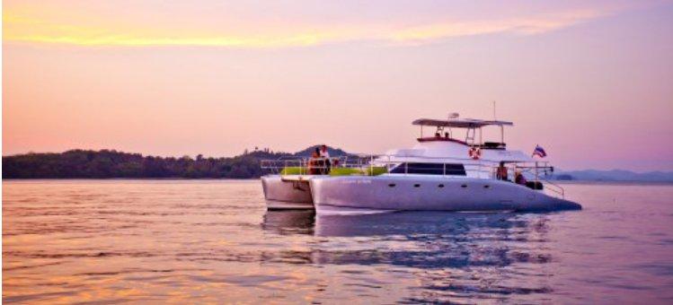 Catamaran boat for rent in Phuket