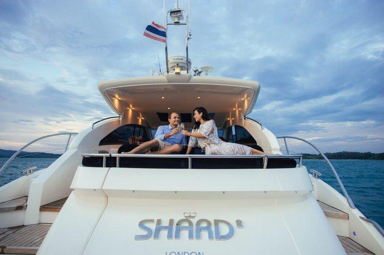 Motor yacht boat rental in Phuket, Thailand