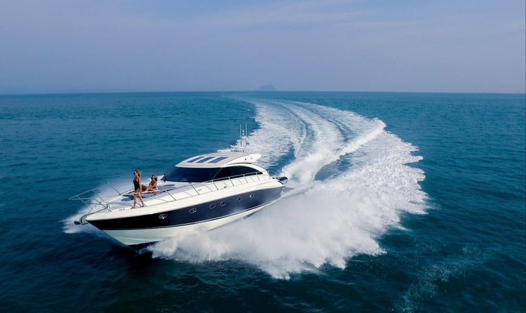 Induldge in luxury in Phuket, Thailand aboard 56 ft motor yacht