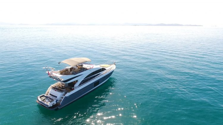 Awesome 60' motor yacht available for charter in Phuket, Thailand