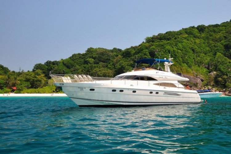 Enjoy a fabulous day aboard a  65' Princess