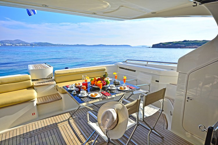 Motor yacht boat for rent in Kos