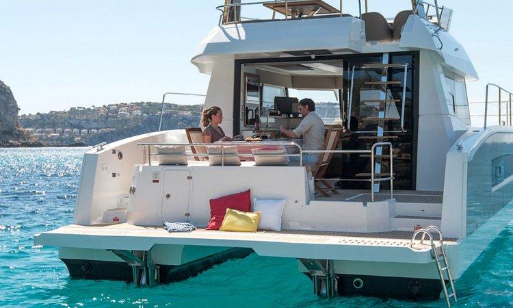 Catamaran boat for rent in Lisboa