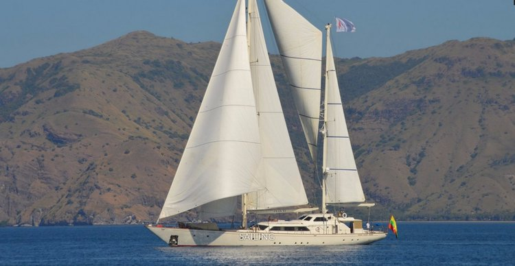 Cruise in style in Phuket, Thailand aboard 131' luxurious sailing yacht