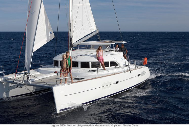 Explore Pontine Islands, Italy aboard 38' cruising catamaran