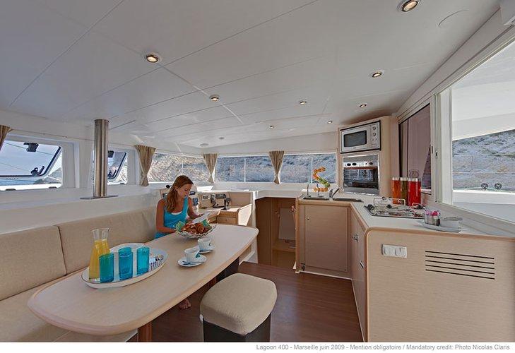 Boating is fun with a Catamaran in Aeolian Islands